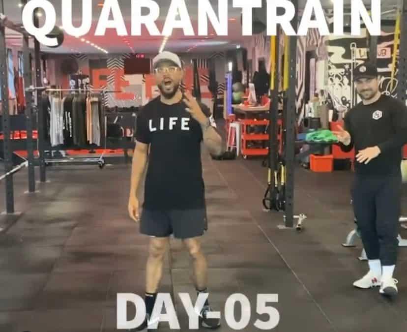 Quarantrain Day 5