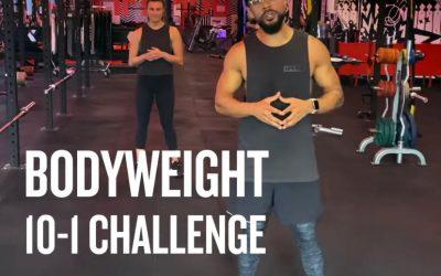 10-1: Bodyweight Challenge