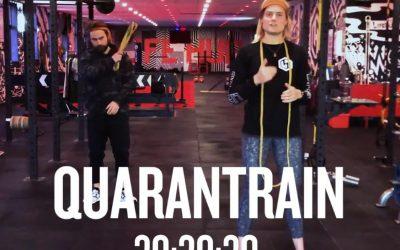 Quarantrain Strength x HIIT 30:30:30
