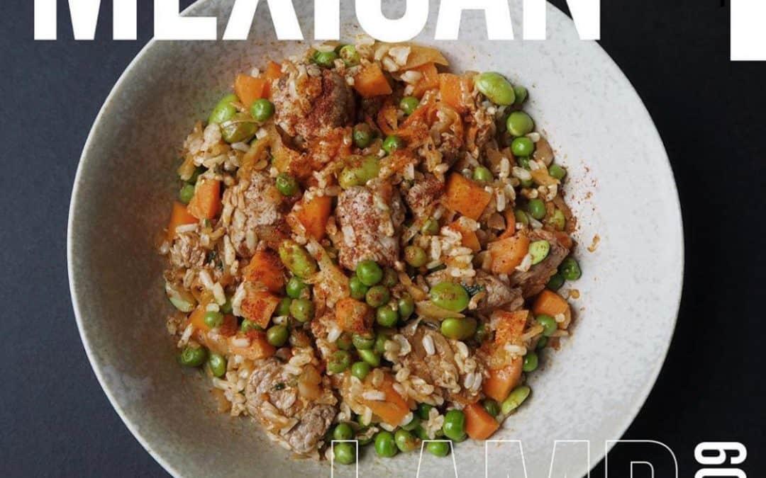 600 Calorie MEXICAN LAMB Recipe