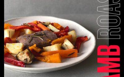 400 Calorie Lean Lamb Roast