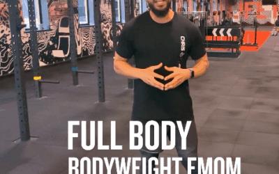 20 Minute Full Body Bodyweight EMOM