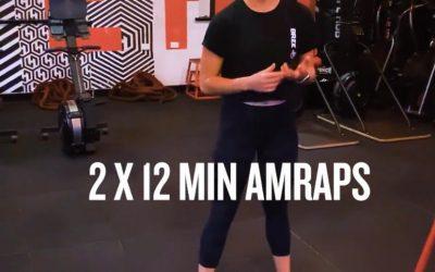 Bodyweight AMRAP Workout